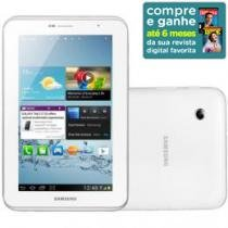 "Tablet Samsung Galaxy P3100 Android 4.0 Wi-Fi 3G - Bluetooth 3.0 16GB Tela 7"" Câmera 3.2MP A-GPS"