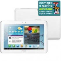 "Tablet Samsung Galaxy P5100 Android 4.0 Wi-Fi 3G - 16GB Tela 10.1"" c/ Câmera Integrada Bluetooth 3.0"