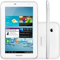 "Tablet Samsung Galaxy Tab 2 7.0 Android 4.0 Wi-Fi - Bluetooth 8GB Tela 7"" Câmera 3.2MP USB"