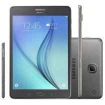 "Tablet Samsung Galaxy Tab A 8.0 16GB Tela 8"" 4G Wi-Fi Android 5.0 Proc. Quad Core Câmera 5MP"