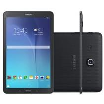 "Tablet Samsung Galaxy Tab E 8GB 9,6"" Wi-Fi Android 4.4 Proc. Quad Core Câm. 5MP + Frontal"