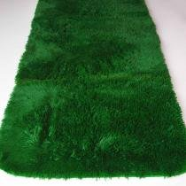 Tapete Passadeira Super Peludo Decor Magazine 2,00 x 0,80 Verde Bandeira Decor Magazine 8025993