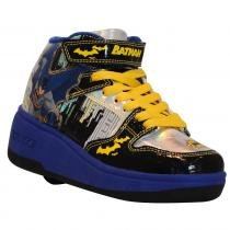 Tênis Roller - DC Comics - Batman - Preto e Amarelo - Royal Kids 7974678