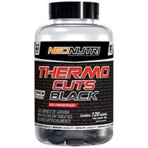 Thermo Cuts Black com Cafeína 120 Tabletes