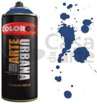 Tinta Spray Arte Urbana Colorgin 350ml Azul Netuno 925 7650184