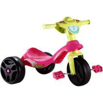 Triciclo Kid Cross Rosa Bandeirante