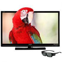 "TV 3D LED 46"" Sharp Aquos LC-46SV602 Full HD 1080p - Conversor Integrado 4 HDMI 2USB DLNA Netflix 120Hz"