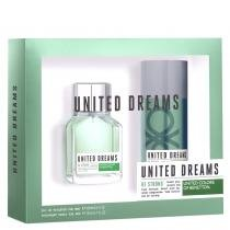 United Dreams Be Strong Eau de Toilette Benetton - Perfume 100ml + Desodorante 150ml 9347837