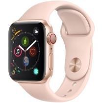 Apple Watch Series 4 40mm Cellular GPS Integrado Wi-Fi Bluetooth Pulseira Esportiva 16GB