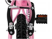 Bicicleta Infantil Aro 20 Colli July Rosa  - com Cesta Freio V-Brake