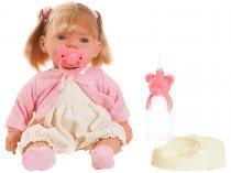 Boneca Bebezinho Real Xixi com Acessórios - Roma Brinquedos