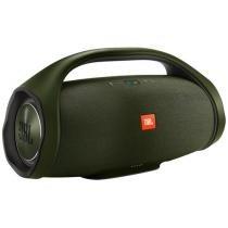 Caixa de Som Bluetooth JBL Boombox Portátil - à prova dágua 60W USB Verde Escuro