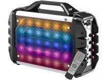 Caixa de Som Bluetooth Portátil Multilaser SP251 100W Ativa USB com Microfone e Entrada SD