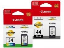 Kit 2 Cartuchos de Tinta Canon PG 44 Preto - Original + Cartucho de Tinta Canon CL 54 Colorido