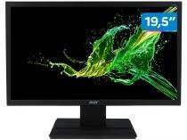 """Monitor para PC HD Acer LED Widescreen - VGA HDMI 19,5"""" V206HQL"""