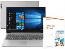 Notebook Lenovo Ideapad S145-15IWL Intel Core i5 - 8GB + Pacote Microsoft Office 365 Personal