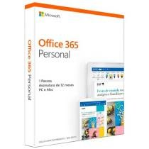 Pacote Microsoft Office 365 Personal - 1TB OneDrive Válido Por 12 Meses
