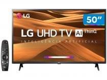 "Smart TV 4K LED 50"" LG 50UM7360PSA Wi-Fi - Inteligência Artificial Controle Smart Magic"
