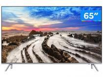 "Smart TV 4K LED 65"" Samsung 65MU7000 Wi-Fi HDR 4 HDMI 3 USB"
