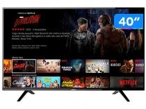 "Smart TV LED 40"" Philco Full HD PTV40E21DSWN - Conversor Digital Wi-Fi 2 HDMI 2 USB"