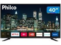 """Smart TV LED 40"""" Philco PTV40E60SN Full HD - Wi-Fi 3 HDMI 2 USB"""