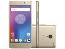 """Smartphone Lenovo Vibe K6 32GB Dourado 4G - Octa Core 2GB Tela 5"""" Câm. 13MP + Selfie 8MP"""