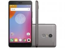 "Smartphone Lenovo Vibe K6 Plus 32GB Grafite - Dual Chip 4G Câm. 16MP + Selfie 8MP Tela 5.5"""