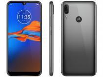 "Smartphone Motorola E6 Plus 32GB Cinza 4G 2GB RAM  - Tela 6,1"" Câm. Dupla + Câm. Selfie 8MP Dual Chip"