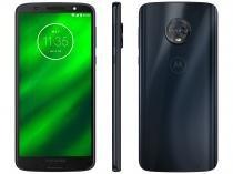 "Smartphone Motorola Moto G6 Plus 64GB Indigo 4G - 4GB RAM Tela 5,93"" Câm. Dupla+ Câm. Selfie 8MP"