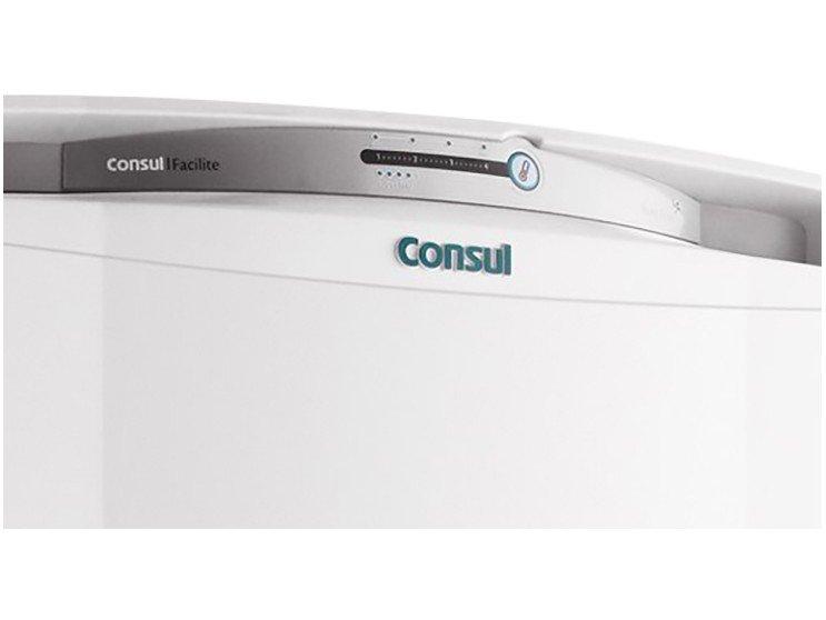 Foto 4 - Geladeira Consul Frost Free 300L - Facilite CRB36ABANA Branco