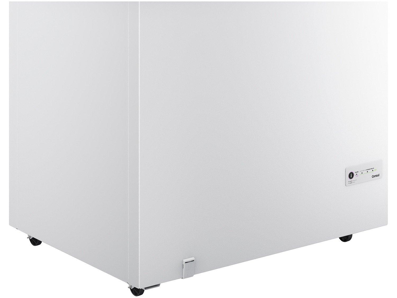 Freezer Horizontal Consul CHA31EB 1 Porta Branco - 309L - 127V - 12