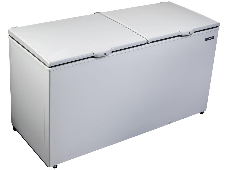 Freezer e Refrigerador Horizontal Dupla Ação 2 tampas 546 litros DA550 – Metalfrio - 220v - Branco