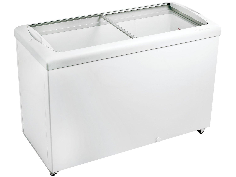 Freezer horizontal tampa de vidro para sorvetes e congelados 433 litros HF40S – Metalfrio - 110v
