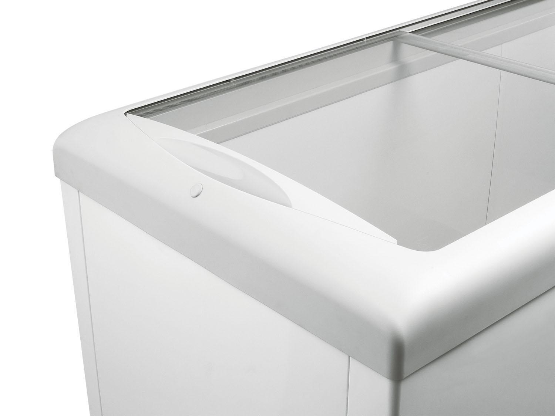Freezer horizontal tampa de vidro para sorvetes e congelados 433 litros HF40S – Metalfrio - 110v - 4