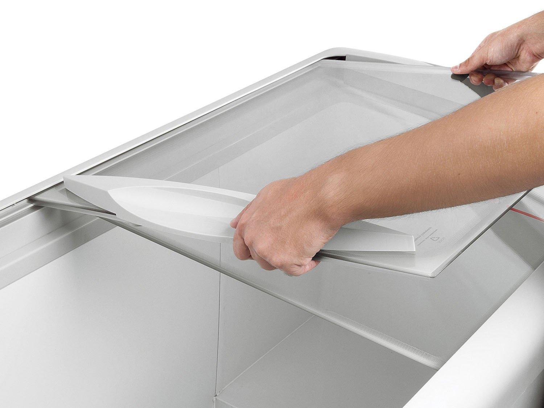 Freezer horizontal tampa de vidro para sorvetes e congelados 433 litros HF40S – Metalfrio - 110v - 8