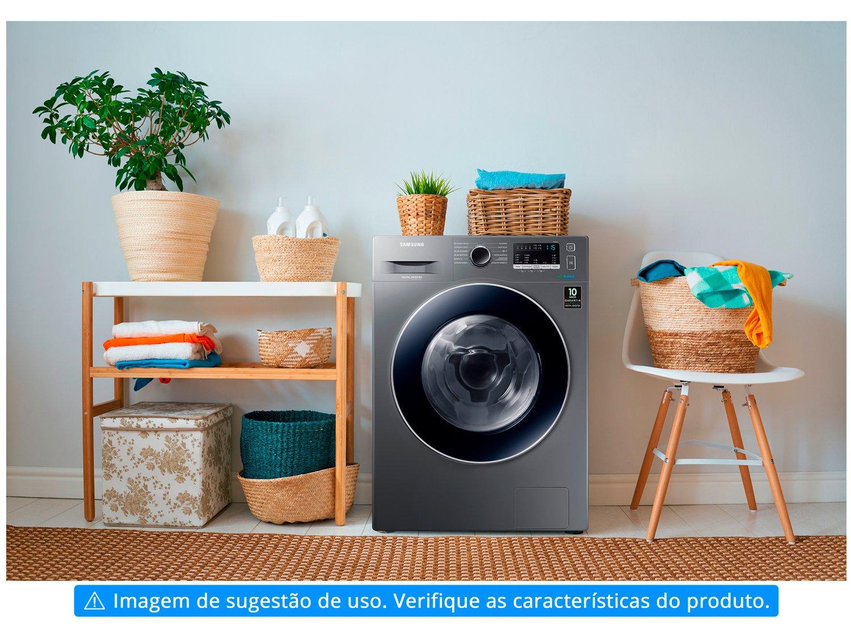 Lava e Seca Samsung WD11M4453JX com Tecnologia Ecobubble 11kg - Inox - 110v - 5