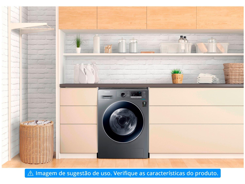 Lava e Seca Samsung WD11M4453JX com Tecnologia Ecobubble 11kg - Inox - 110v - 7