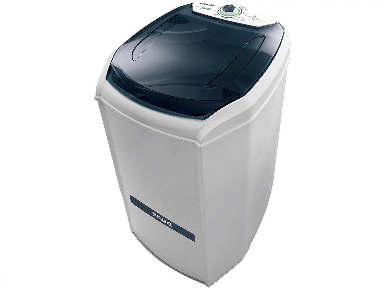 Lavadora de Roupas Suggar 10 Kg Lavamax Eco com Dispenser para Sabão - Branca - 110V