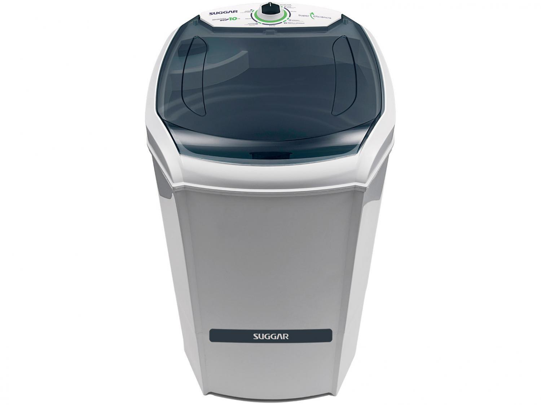 Lavadora de Roupas Suggar 10 Kg Lavamax Eco com Dispenser para Sabão - Branca - 110V - 4