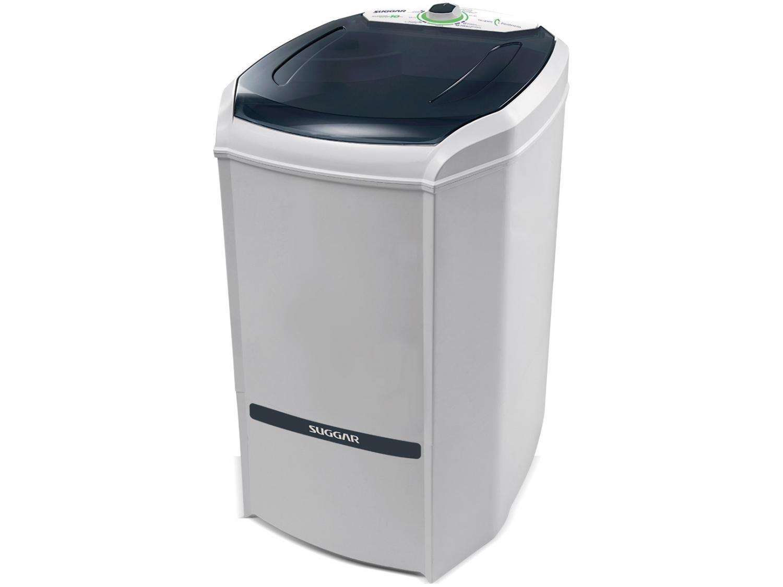 Lavadora de Roupas Suggar 10 Kg Lavamax Eco com Dispenser para Sabão - Branca - 110V - 6