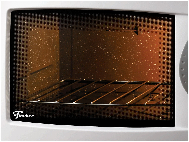 Forno Elétrico Fischer Grill de Bancada 44 Litros com Dourador e Timer 1750W - Branco - 110V - 4