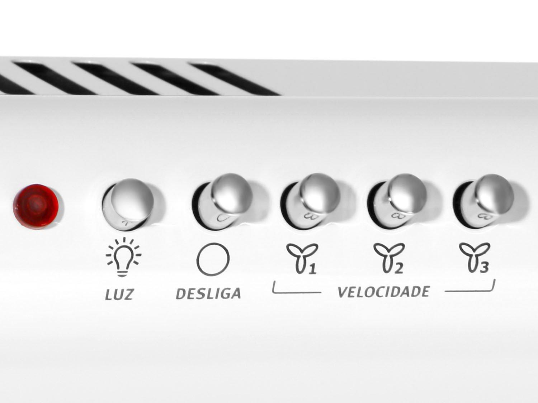 Depurador de Ar Electrolux DE80B - 80 cm - Branco - 110V - 12