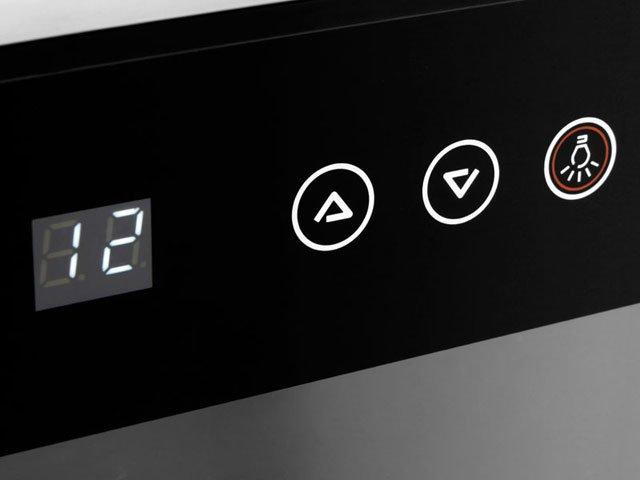 Foto 6 - Adega Climatizada Brastemp 12 Garrafas - All Black BZC12B Controle Digital de Temperatura