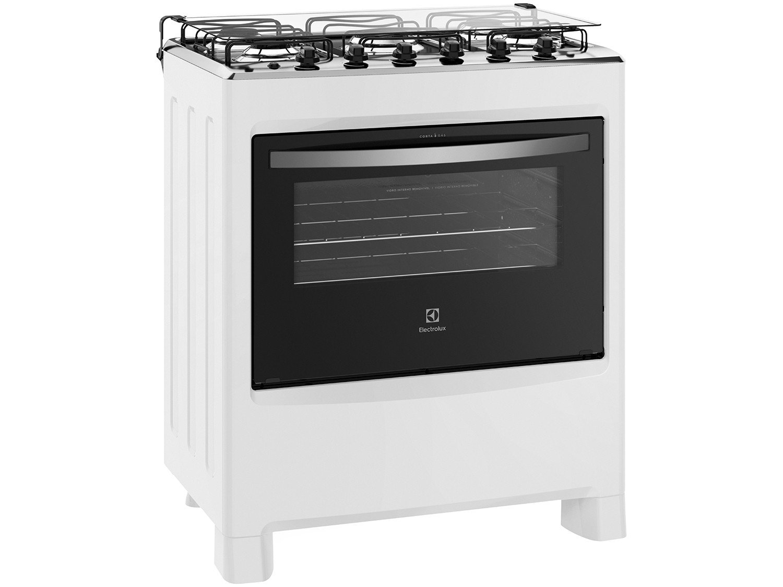 Fogão Electrolux 5 Bocas 76LBU com Queimadores Robustos – Branco - 6