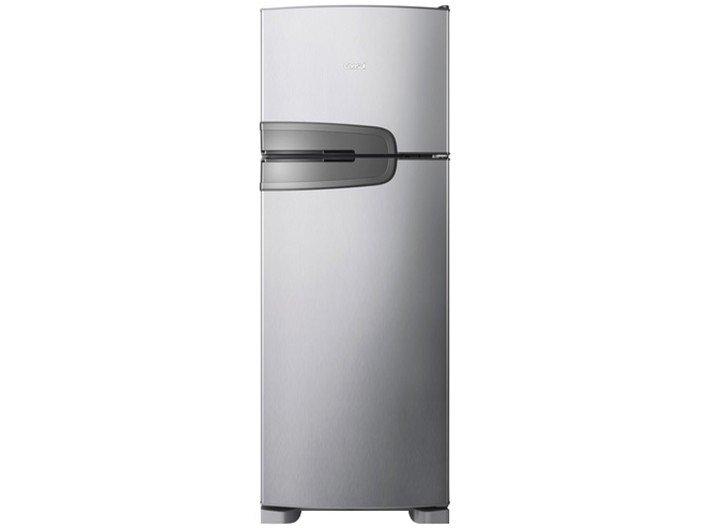 Refrigerador Consul CRM39AK Frost Free com Prateleiras Altura Flex Evox Prata – 340L - 220v