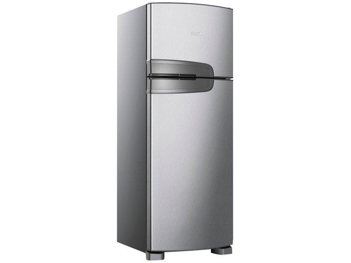 Refrigerador Consul CRM39AK Frost Free com Prateleiras Altura Flex Evox Prata – 340L - 220v - 1