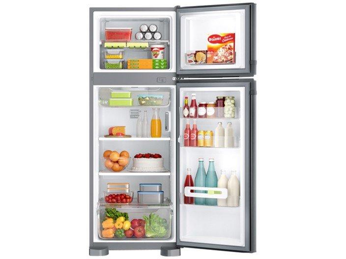 Refrigerador Consul CRM39AK Frost Free com Prateleiras Altura Flex Evox Prata – 340L - 220v - 2