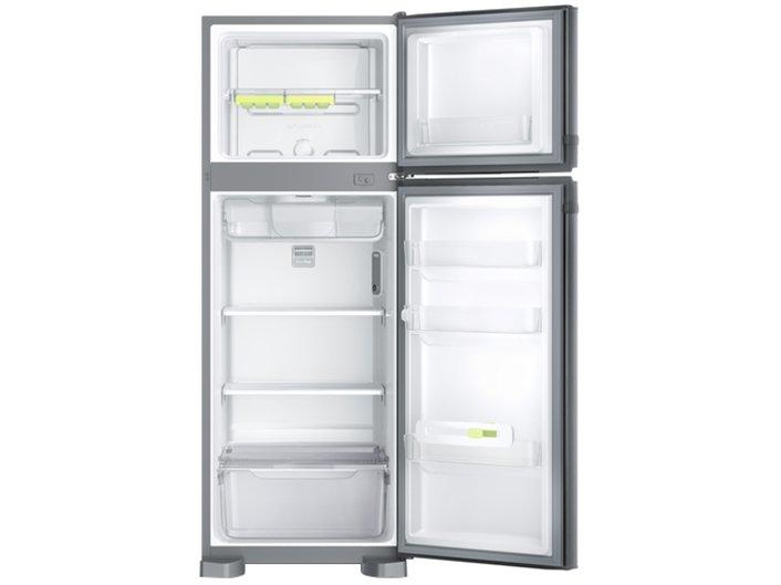 Refrigerador Consul CRM39AK Frost Free com Prateleiras Altura Flex Evox Prata – 340L - 220v - 3