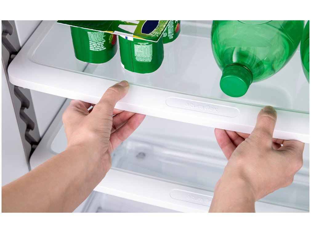 Refrigerador Consul CRM39AK Frost Free com Prateleiras Altura Flex Evox Prata – 340L - 220v - 4