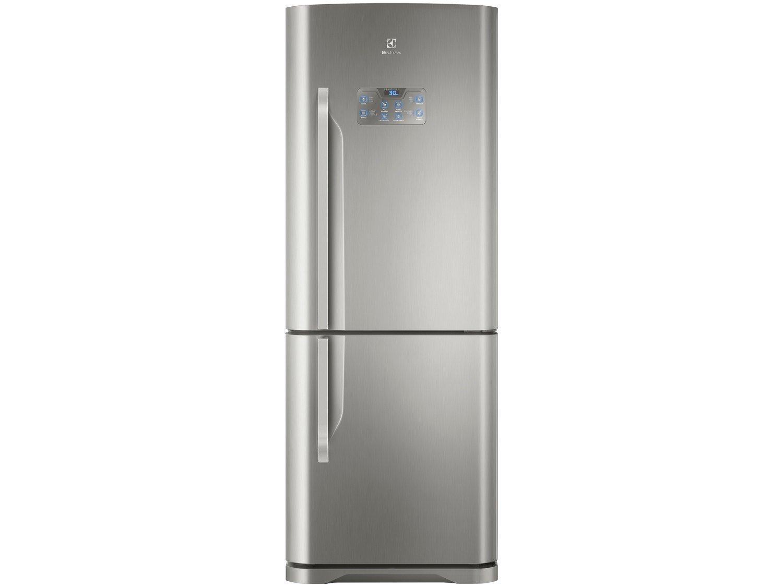 Refrigerador Electrolux Bottom DB53X Frost Free com Painel Blue Touch 454L - Inox - 220V - 8